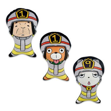 119 Mascots 3-Piece Pillow Set