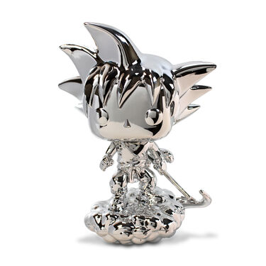 Funko Pop - Young Goku on Nimbus Cloud (Silver Chrome)