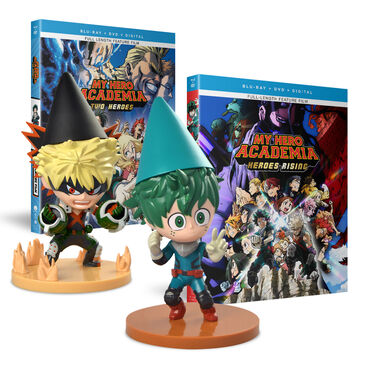 Heroes Rising & Two Heroes + Deku & Bakugo Gnomes