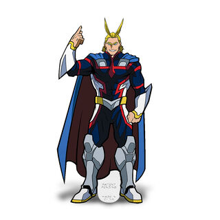 All Might - Young Age (X53) FiGPiN