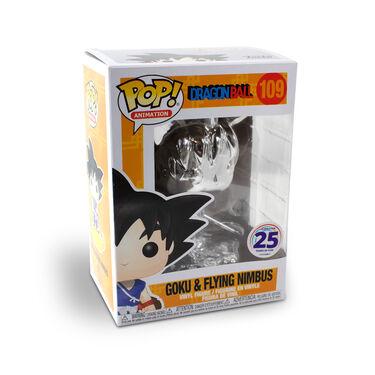 Funko Pop - Young Goku on Nimbus Cloud (Silver-chrome)