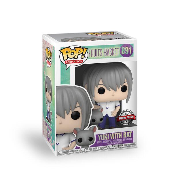 Yuki Soma + Rat Funko Pop!