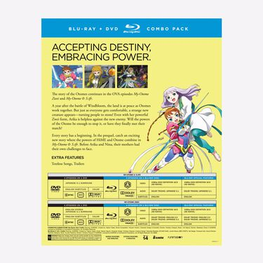 The OVA Collection – BD/DVD Combo