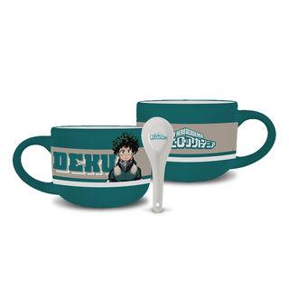 Latte Mug & Spoon