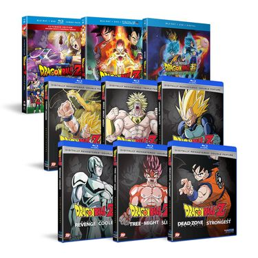 Dragon Ball Z + Dragon Ball Super: Broly Complete Movie Collection