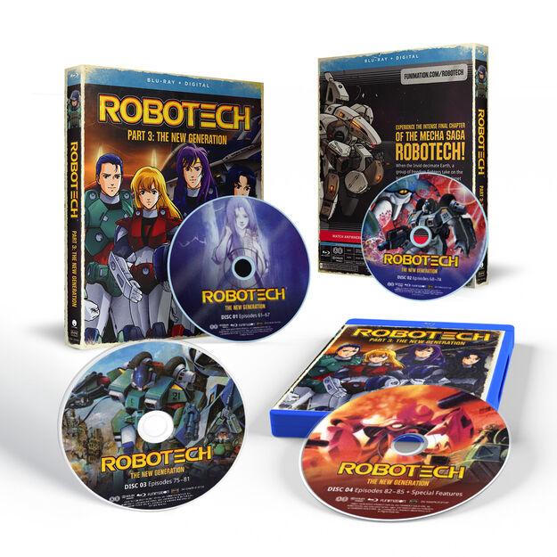 Robotech - Part 3 (The New Generation) - BD+Fun Digital