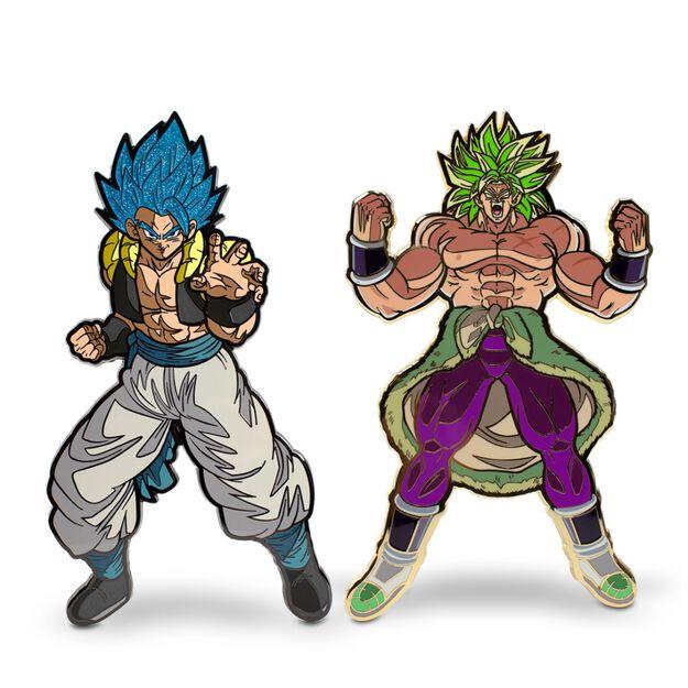 Dragon Ball Super Gogeta Broly XL FiGPiN 2 Pack
