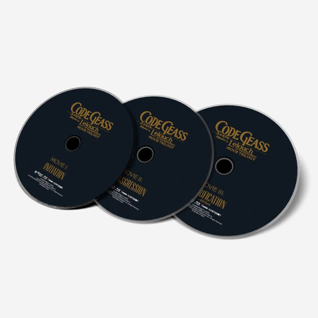 Trilogy Movie Box Set - I: Initiation + II: Transgression + III: Glorification - BD (SUB ONLY)
