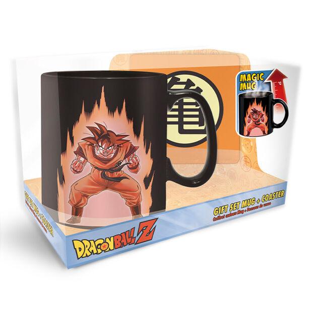 Goku Magic Mug and Coaster Giftset