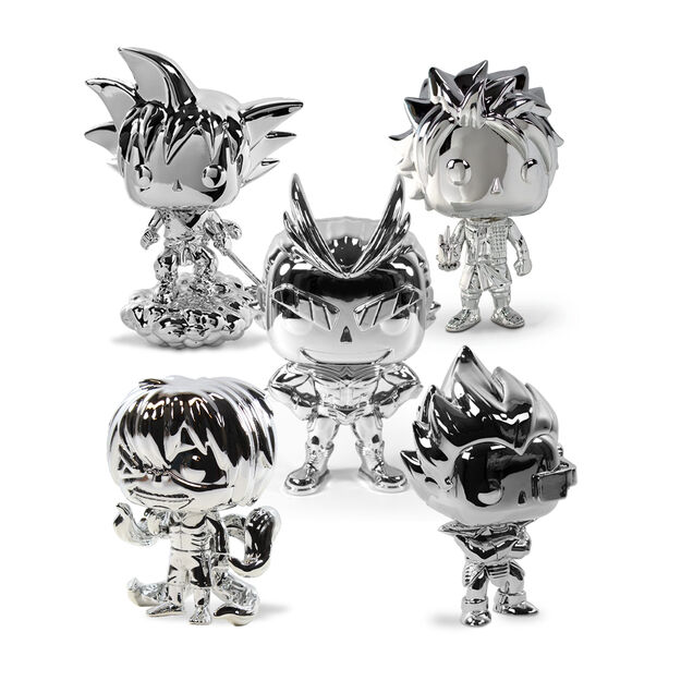Funimation's 25th Anniversary Chrome Funko POP! Collection