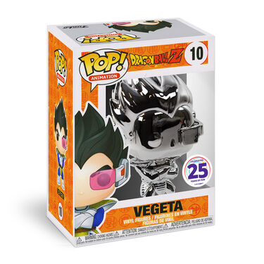 Funko Pop - Villain Vegeta (Silver Chrome)