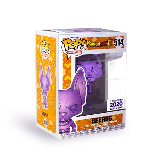 Funko Pop - Lord Beerus (Purple Chrome)