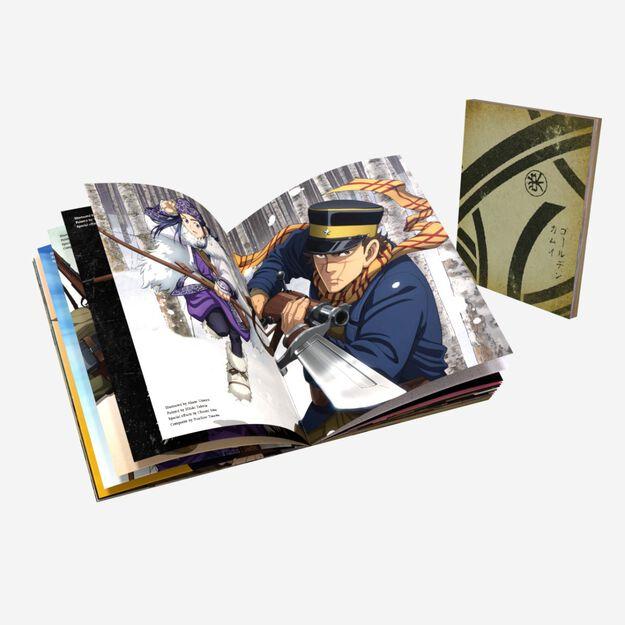 Golden Kamuy - Season One - BD/DVD Combo + LE