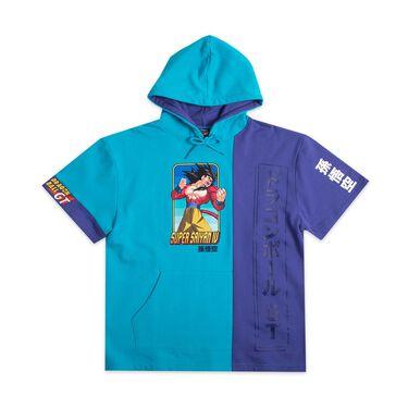Super Saiyan 4 Goku Panel Hoodie