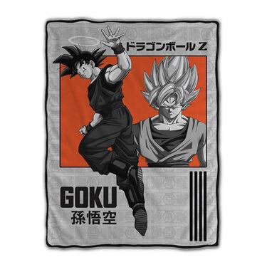 Goku Fleece Blanket