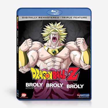 Triple Feature - Broly The Legendary Super Saiyan/ Broly Second Coming/Bio Broly