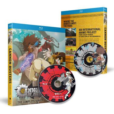 Cannon Busters - The Complete Series