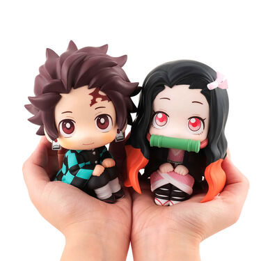 Tanjiro & Nezuko Kamado Look Up Figure Set