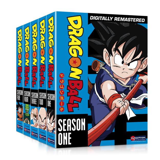 Dragon Ball Season 1 - Season 5 Five Bundle