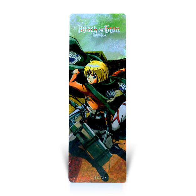 Scout Regiment Armin Bookmark