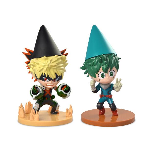 My Hero Academia Characters as Garden Gnomes
