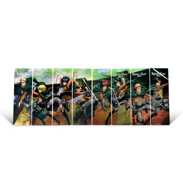 Scout Regiment Bookmarks (Set of 8)