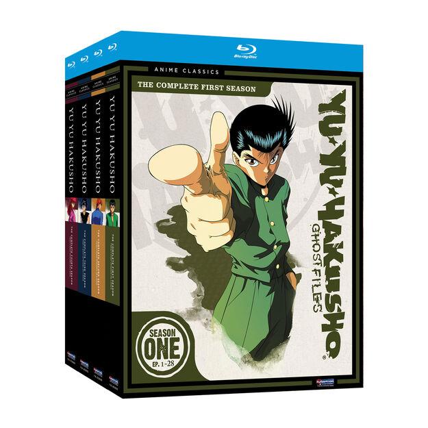 Yu Yu Hakusho Season 1 - Season 4 Bundle