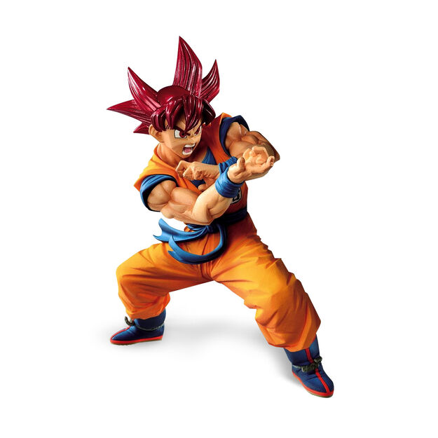 Super Saiyan God Goku Figure