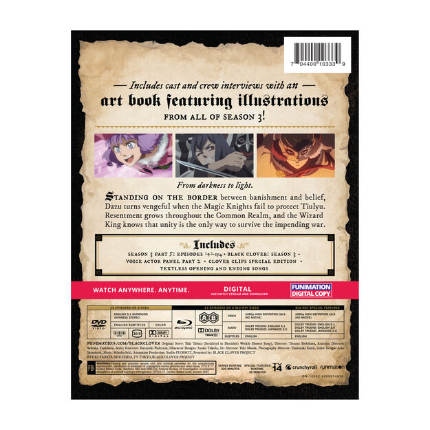 Season 3 Part 5 Plus Art Book