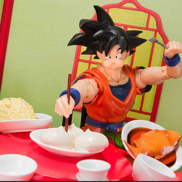 Goku Eating Scene Figuarts Set