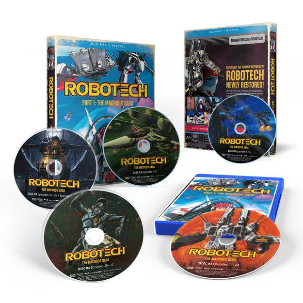 Robotech - Part 1 (The Macross Saga)