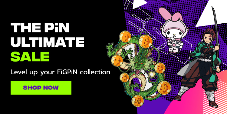 The Pin Ultimate Sale - Level up your FiGPiN collection