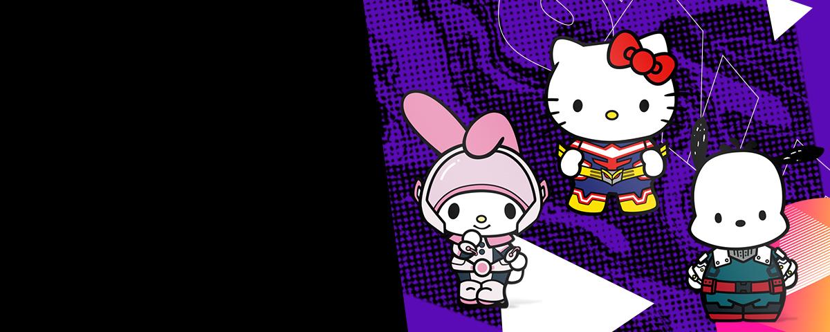 Stock Up Today! My Hero Academia x Sanrio FiGPiNs - Shop Now