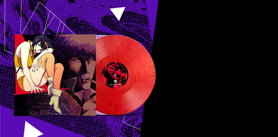 3...2...1 Let's Jam! Cowboy Bebop LP Vinyl.