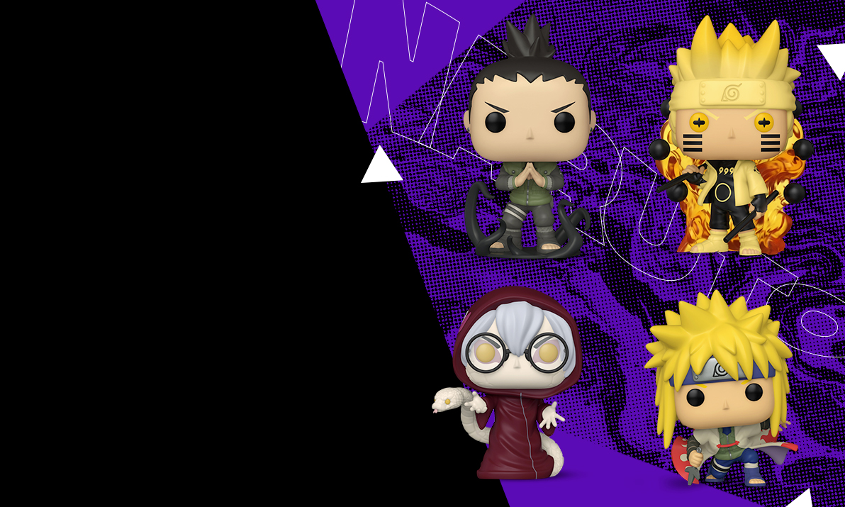New Naruto Funko Pops! Shinobi worth showing off. Believe it!
