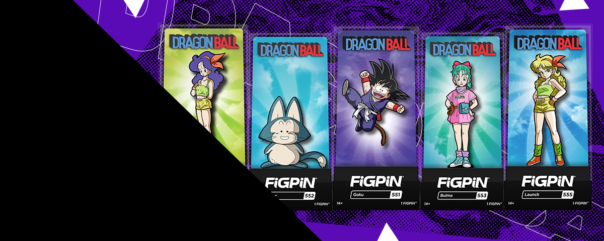 New Dragon Ball FiGPiNs. Pin your hopes on these heroes!