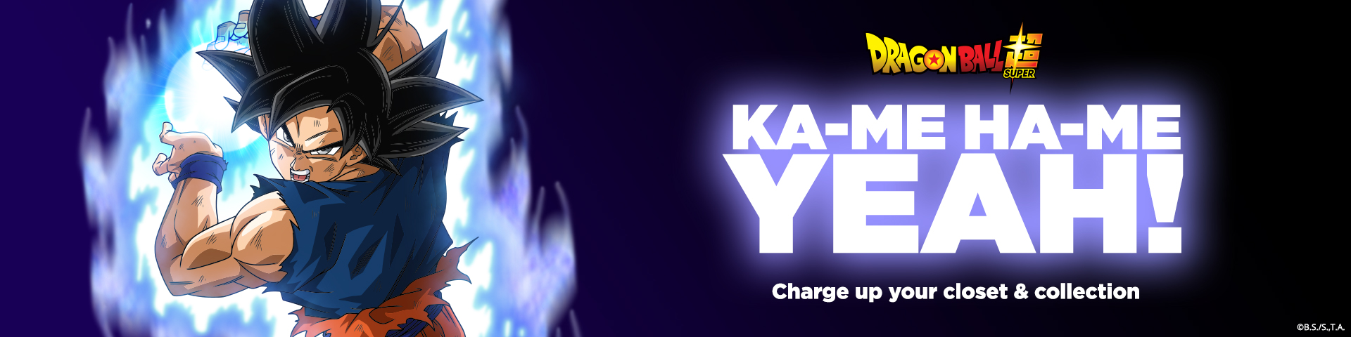 Ka-Me Ha-Me Yeah! Charge Up Your Closet and Collection.