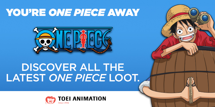 You're One Piece Away. Discover All The Latest One Piece Loot.